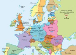Map Of Europe During Ww2: Map of europe during ww2 from diercke 1