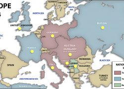 Map Of Europe Ww1: Map of europe ww1 from maps 1