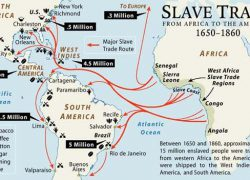 Middle passage map from pinterest 8