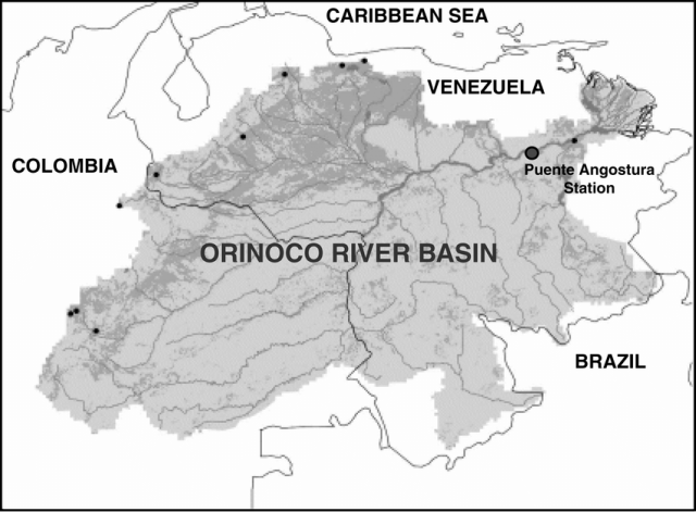 Orinoco River Map
