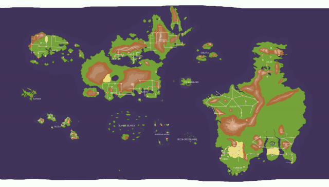 Pokemon world map from reddit 2