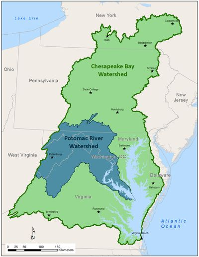 Potomac river map from tripsavvy 1