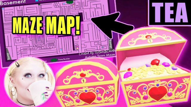 Royale high halloween 2020 maze map from youtube 1