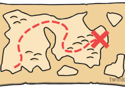 Simple Treasure Map