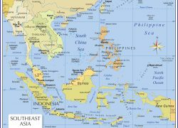 South East Asia Map: South east asia map from nationsonline 1