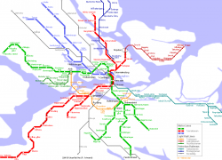 Stockholm Subway Map: Stockholm subway map from orangesmile 2
