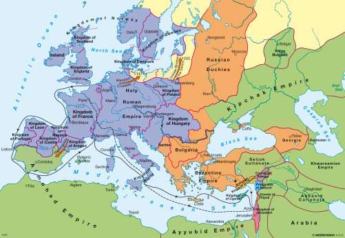 The Crusades Map