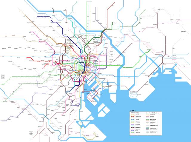 Tokyo On Map