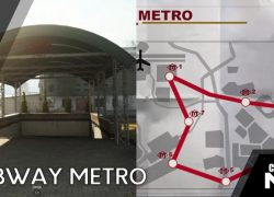 Warzone metro stations map from gfinityesports 7