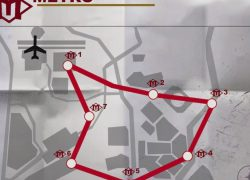 Warzone metro stations map from millenium 6