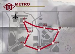 Warzone metro stations map from millenium 8