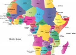 Africa Map With Capitals: Africa map with capitals from pinterest 1