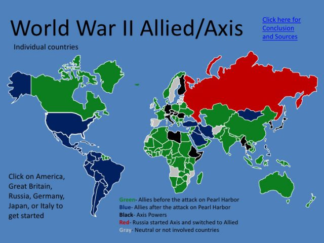 Axis powers ww2 map from thinglink 1