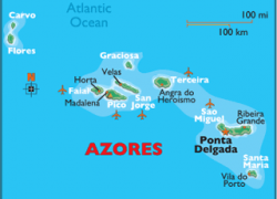 Azores map from worldatlas 9