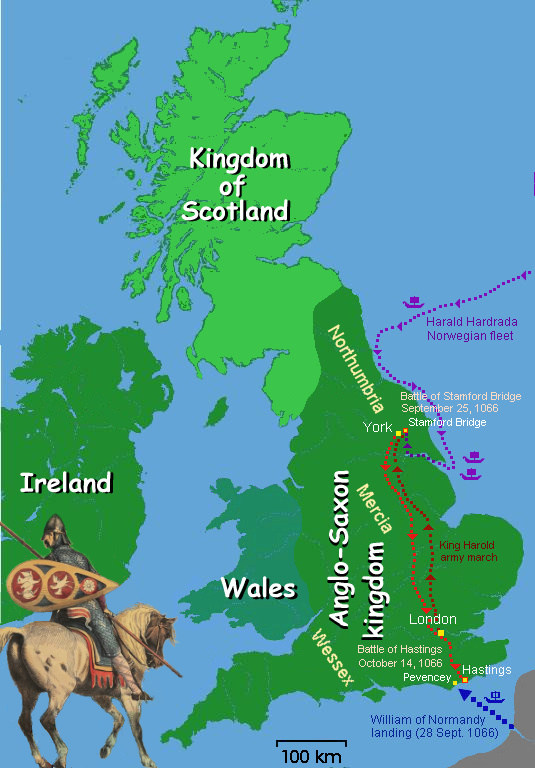 Battle of hastings map from commons 1