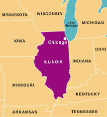 Chicago illinois map from pinterest 1