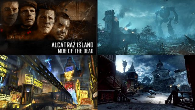 Cold War Zombies Map Layout