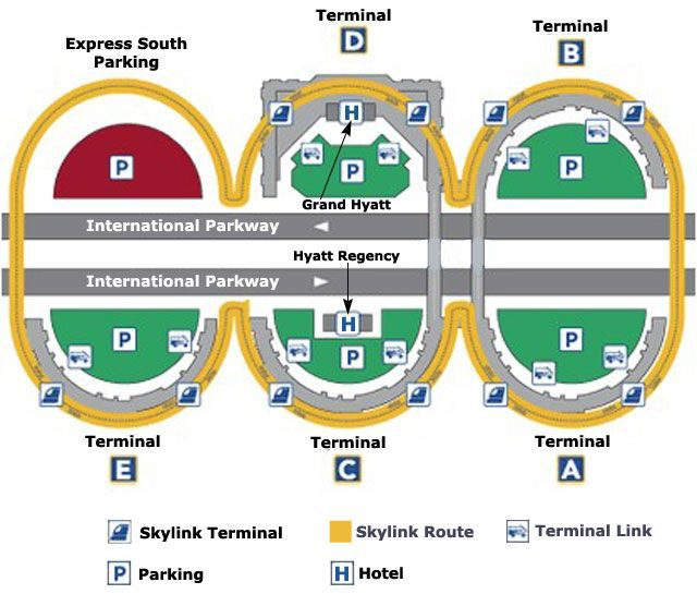 Dfw Airport Map