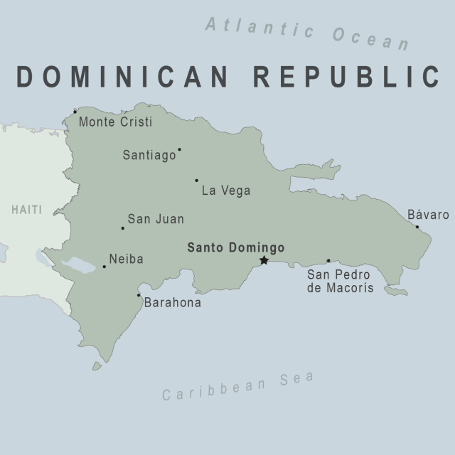Dominican republic map from wwwnc 1