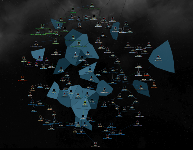 Eve Online Map