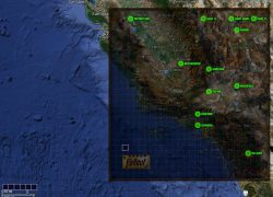 Fallout 1 Map: Fallout 1 map from nma fallout 3