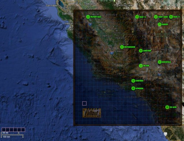 Fallout 1 map from nma fallout 3