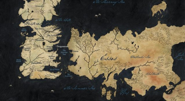Game Of Thrones 7 Kingdoms Map