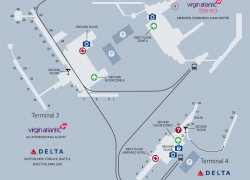 Heathrow Airport Map