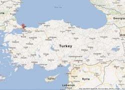 Istanbul on map from worldeasyguides 4