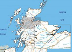 Loch Ness Map: Loch ness map from visitinvernesslochness 1
