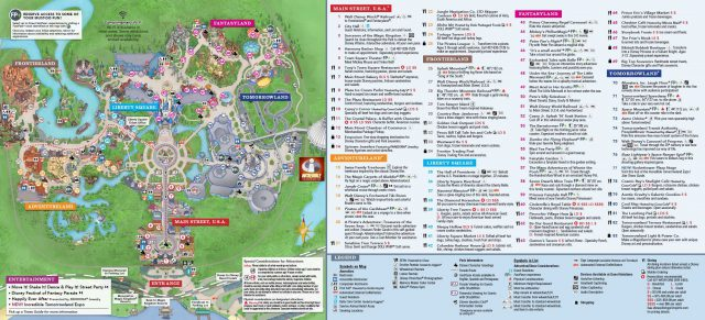 Magic Kingdom Map