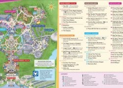 Magic Kingdom Map: Magic kingdom map from wdwinfo 1
