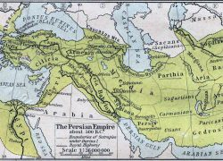 Map Of Persian Empire: Map of persian empire from en 1