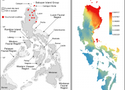 Map of the philippines with label from researchgate 3