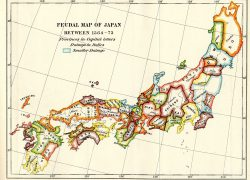 Medieval Japan Map: Medieval japan map from pinterest 1