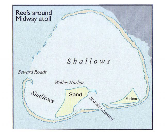 Midway Island Map