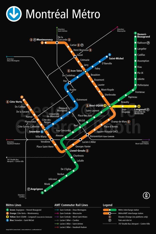 Montreal metro map from pinterest 2