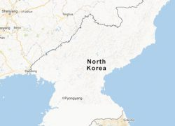 North Korea Map: North korea map from newyorker 1