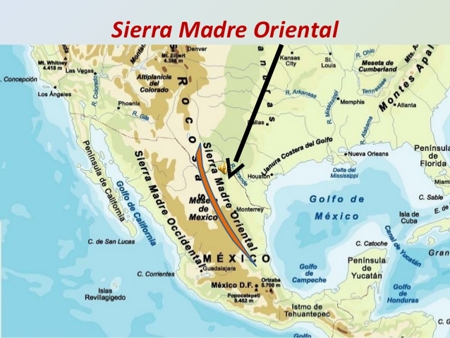 Sierra Madre Mountains Map