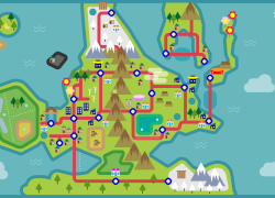 Sinnoh map from medium 10