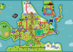 Sinnoh map from medium 7