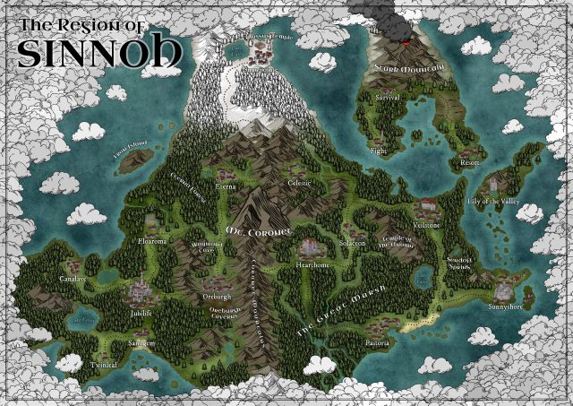 Sinnoh Map