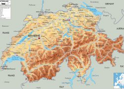 Swiss Alps Map: Swiss alps map from alpenwild 1