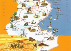 Tunisia map from pinterest 10