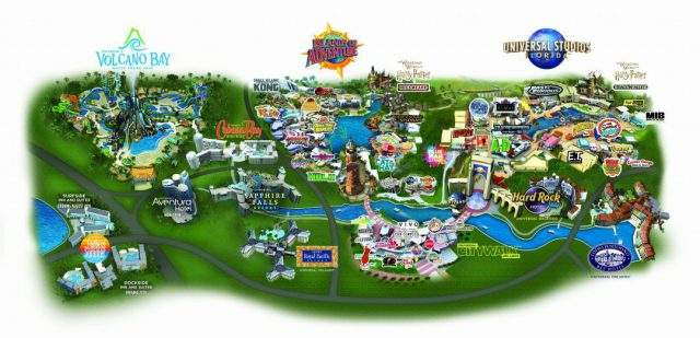 Universal studios map from magicguides 1