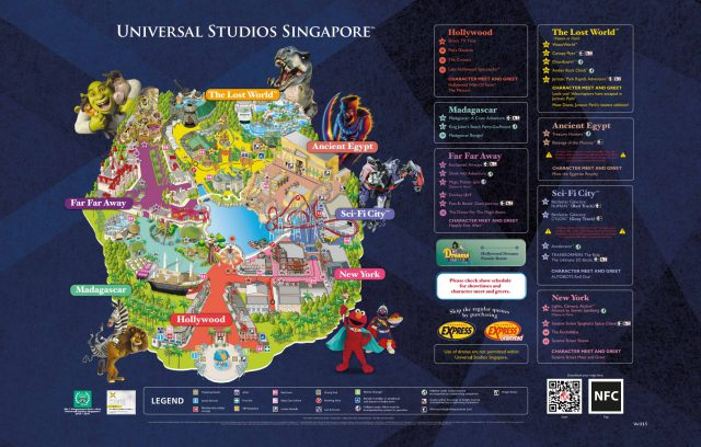 Universal studios singapore map 2018 from liveeatcolour 1