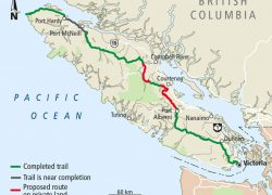 Vancouver island map from timescolonist 2