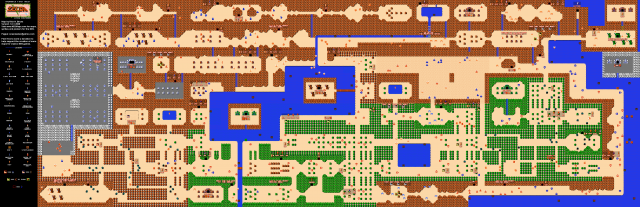Zelda nes map from reddit 1