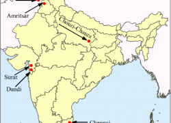 Amritsar on political map of india from meritnation 5