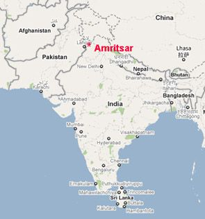Amritsar On Political Map Of India From Pinterest 4
